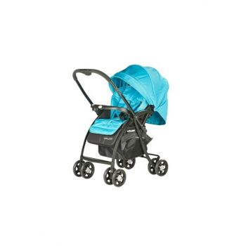 Baby2Go 6021 Soft Two Way Baby Stroller Green / 602167