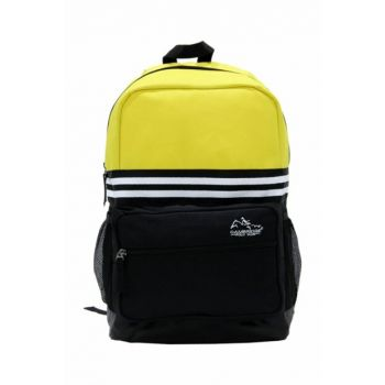 Yellow Black Unisex Backpack Plcan1651.019 PLCAN1651.019