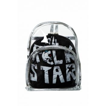 Transparent Backpack Rock Star with Inner Bag BHP1896