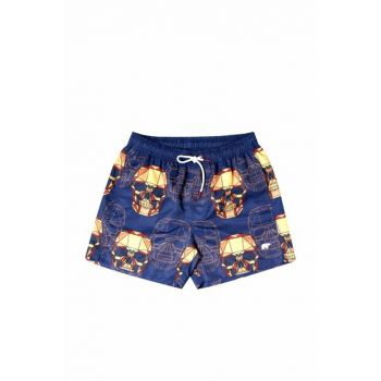 Men's Soulfly Navy Shorts / Bermuda 18.01.09.004-C07