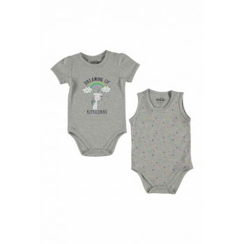 Baby Girls' Snaps Body Gray 145879228Y91