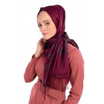 Cherry Gray Shawl BRL007-190X70CM