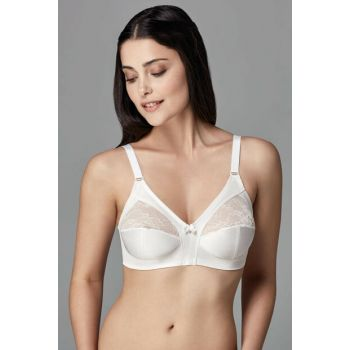 Women Ecru Diana Underwire Minimiser Single Bra B0169245