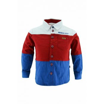 Boy Shirt 2-12 Years Old Red 18652 M18652 red