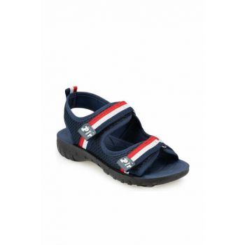 Navy Blue Boy Sandals 91.511426.F