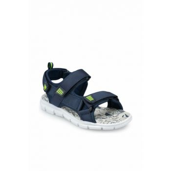 Navy Blue Boy Sandals 91.511216.F