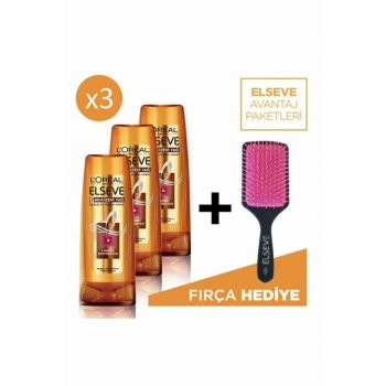6 Miraculous Oil Nourishing Treatment Cream 360ml Set of 3 + Comb Gift 36005227134254 PKTELSV6MCZYAGKREMX3CAR