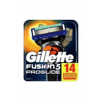 Fusion ProGlide 14-Pack Replacement Shaver Carton Package 734