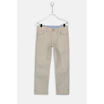 Boys' Beige Ghr Pants 9W0866Z4