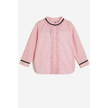 Pink Kid Firfir Detailed Shirt 0KKG67883AW