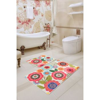 Galvin Djt 2 Li Set Bath Mat, Doormat Set 8682125930961