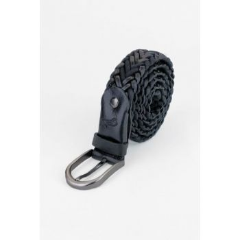 Genuine Leather Black Men Belt SMKM110