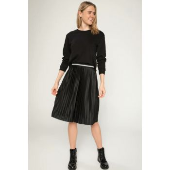 Women's Relax Fit Pleated Skirt J7869AZ.18AU.BK27