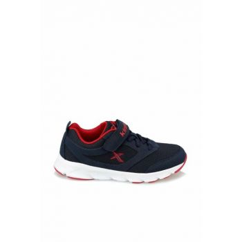 Kids' Lifestyle Shoes Almera J Navy Blue-Red 100355717
