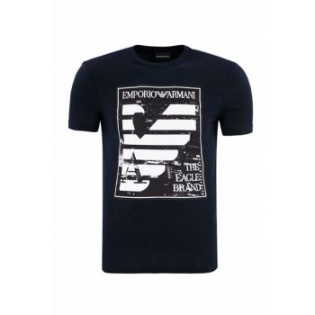 Navy Blue Men's T-Shirt 6Z1TF5 1J00Z