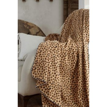 100% Cotton Baby Blanket Leopard 153-99-000002