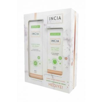 Incia Stretch Mark Gel Cream 75Ml + Nipple Care Gel Cream 30Ml Set 30150039