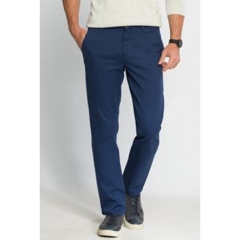 Men's Blue Slim Chino Pants 6K1277Z8