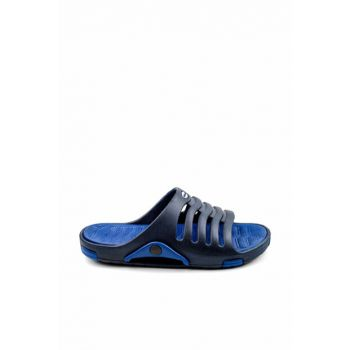Navy Blue Men's Slippers E606.M.000