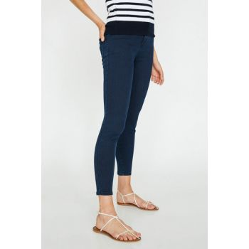 Women's Blue Slim Fit Jean 9KAK47648DD