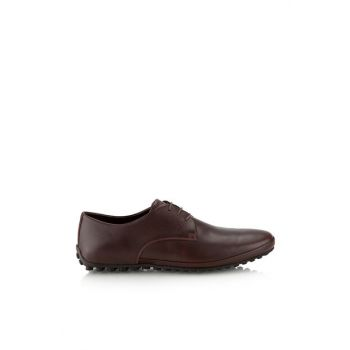 Genuine Leather Coffee Men Shoes 02AYH119690A480