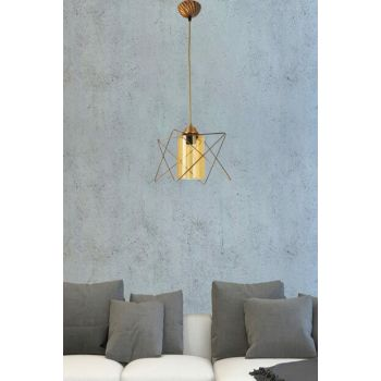 Ayca Antique Chandelier With Single Glass 701 0217 04 099