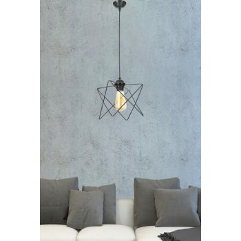Ayca Single Black Vintage Single Chandelier 601 0217 13 099