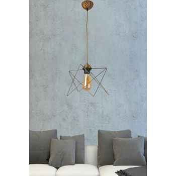 Ayça Single Case Tumbled Chandelier 601 0217 04 098