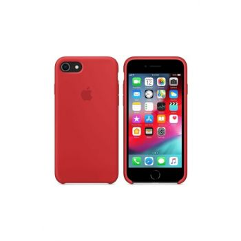 Iphone 7/8 Silicone Case Red GNP80