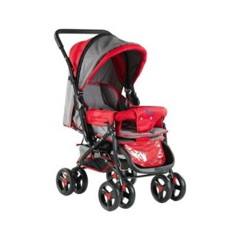 Babyhope Two Way Baby Carriage Blue - Gray / 025868