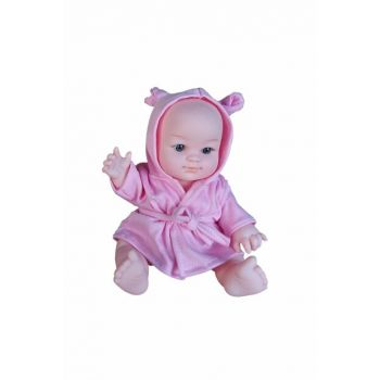 Uran Baby With Bathrobe With Sound 170960 Pink / 1446890