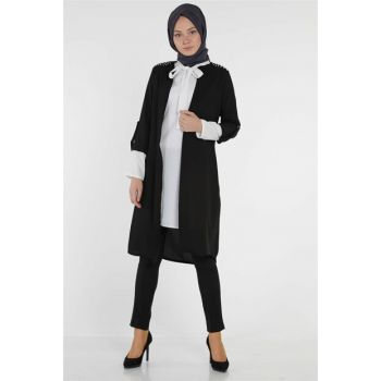 Women's Black Double Set Nassah-US-0303