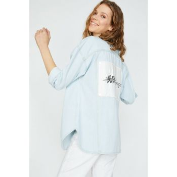 Women's Blue Coat 9YAK57002OD