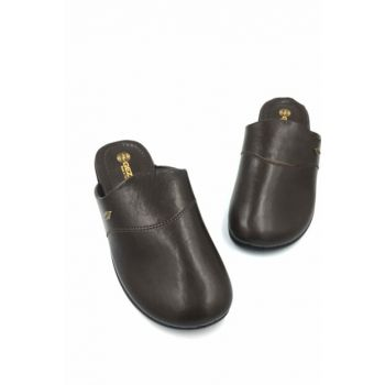 BROWN Men's Slipper Gzr11115D