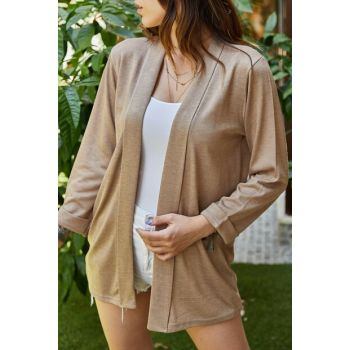 Women's Mink Double Sleeve Jacket 9YXK4-41521-29