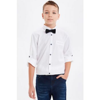 Boy's Shirt and Bow Tie 8W8364Z4