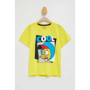 Yellow Boy Kid Color Changing King Shakir T-Shirt M2973A6.19HS.YL288