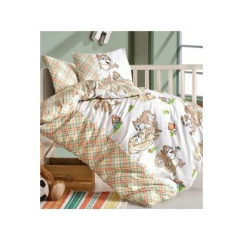Baby Duvet Cover Set Chipmunks Oranj 179817