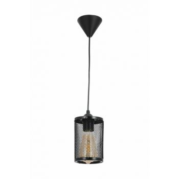 Honeycomb New Style Modern Pendent Black Single Chandelier 0520