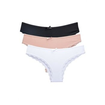 Women's Panties 3-Pack Brazillian 91016