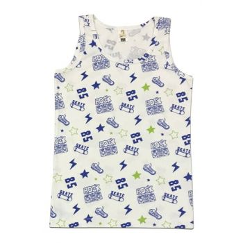 Boys Patterned Tank Top 31430