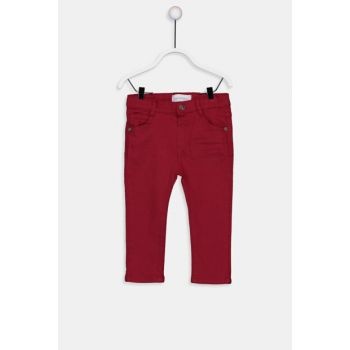 Baby Boy Red Pev Pants 9W1359Z1