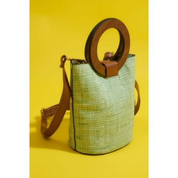 Green Women's Shoulder Bag H36220010
