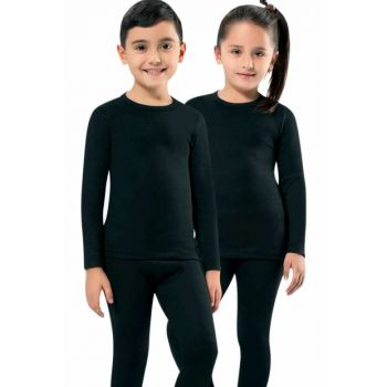 Unisex Kids Black Thermal Body MKT2005