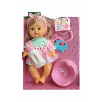 Talking Meat Baby with Food Accessories / 284121