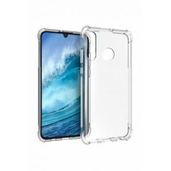 Rich Shop Huawei P30 Lite Case Ultra Thin Transparent Airbag Anti Shock Silicone - And Screen Protector