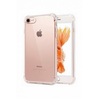 Rich Shop Apple iPhone 7 - 8 Ultra Thin Transparent Airbag Anti Shock Silicone Case - And Screen Protector