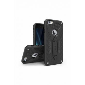Iphone 6 - 6S Stand Armored Case SY-155-İ6-BLACK
