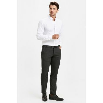 Men's Anthracite Trousers 8W1055Z8