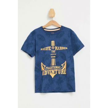 Printed Short Sleeve T-shirt K7213A6.19SM.IN201